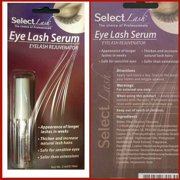Select Lash Makeup Mascara Eye Lash Serum Growth 1 New Poshmark